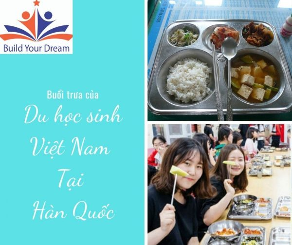 Buổi trưa của du học sinh Hàn Quốc